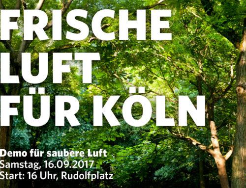 Frische Luft für Köln