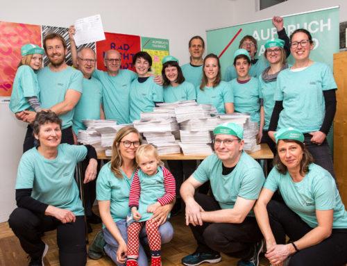 Mehr als das Quorum erreicht – Erfolgreiche Volksinitiative für NRW: Aufbruch Fahrrad