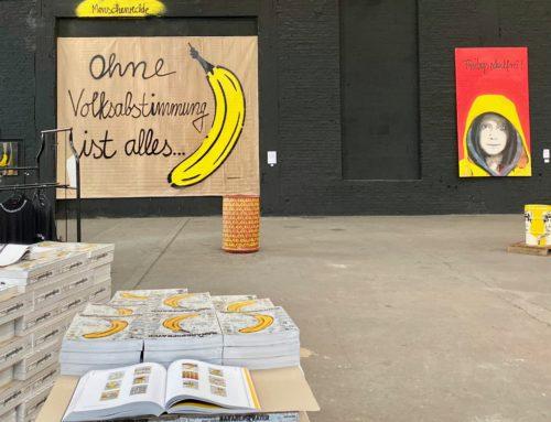 Kunst, Demokratie und Verkehrswende: Exklusive Führung durch die große Baumgärtel-Ausstellung