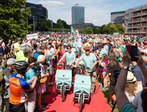 Aufbruch Fahrrad für den Deutschen Fahrradpreis nominiert