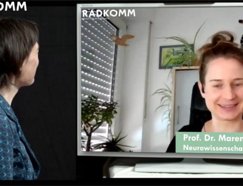 Konstruktiver Denken, weil die Zeit abläuft: Prof. Dr. Maren Urner zu Gast bei RADKOMM.TV