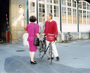 Mai 1990, Werner Weber, da noch Director of International Relations der RWTH Aachen, erreicht die Ecole des Mines, 60 boulevard Saint-Michel Paris, nach 429 km demonstrativer Fahrradfahrt von Aachen